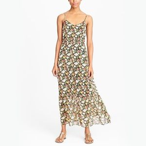 JCrew Mercantile tiered maxi dress